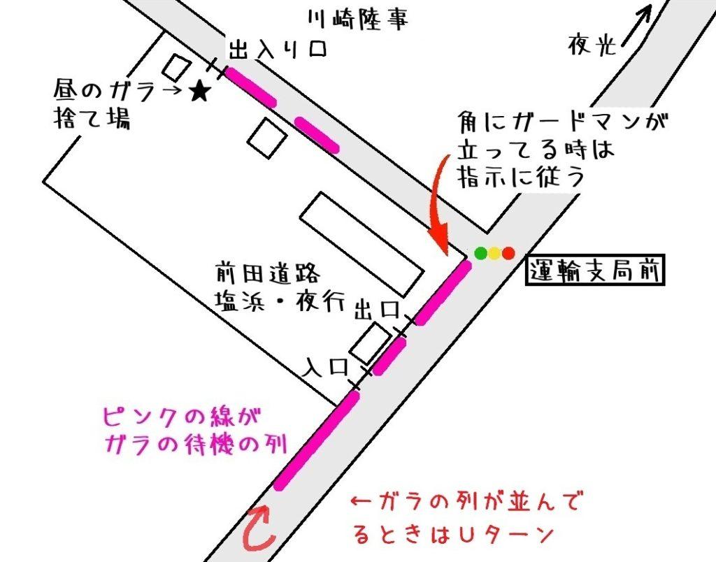塩浜の前田道路