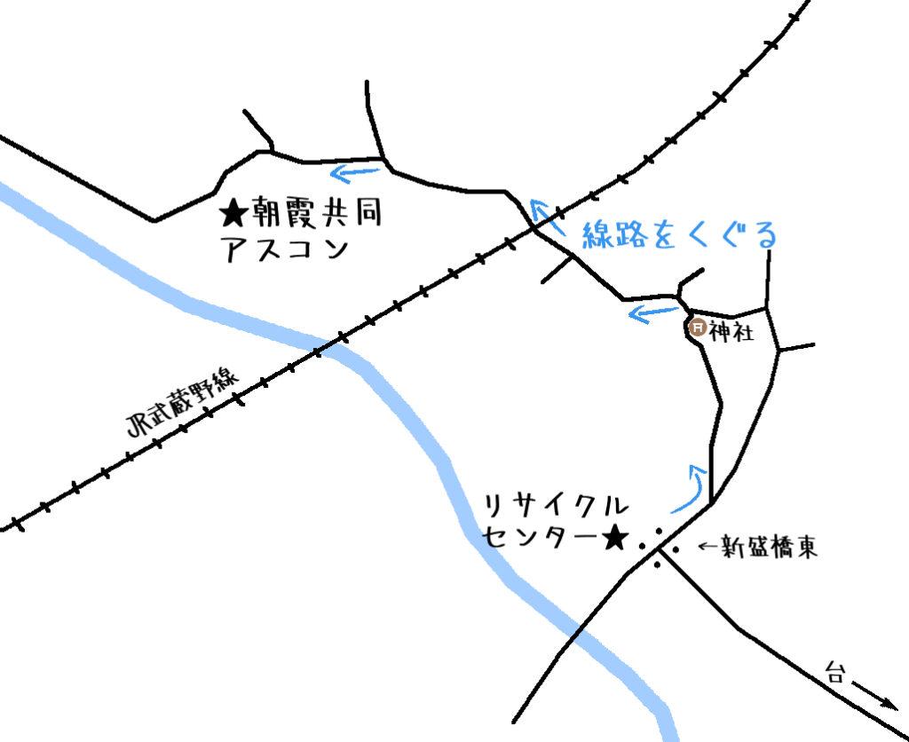 朝霞共同アスコン